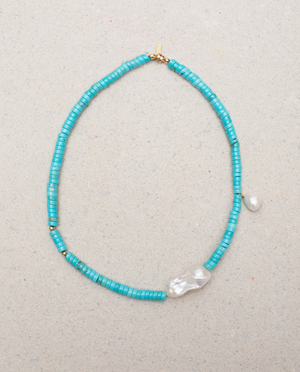 GELA TURQUOISE NECKLACE - Millo Jewelry