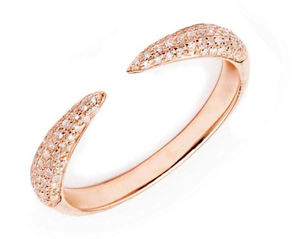 Pave Claw Ring - Millo Jewelry