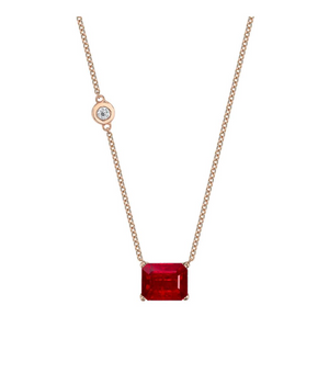 GEMSTONE PENDANT NECKLACE - Millo Jewelry