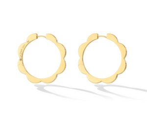 Triplet Hoop Earrings, Large - Millo Jewelry