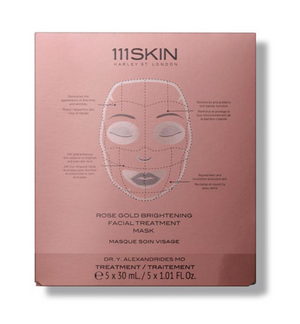 ROSE GOLD BRIGHTENING FACIAL TREATMENT MASK - Millo Jewelry