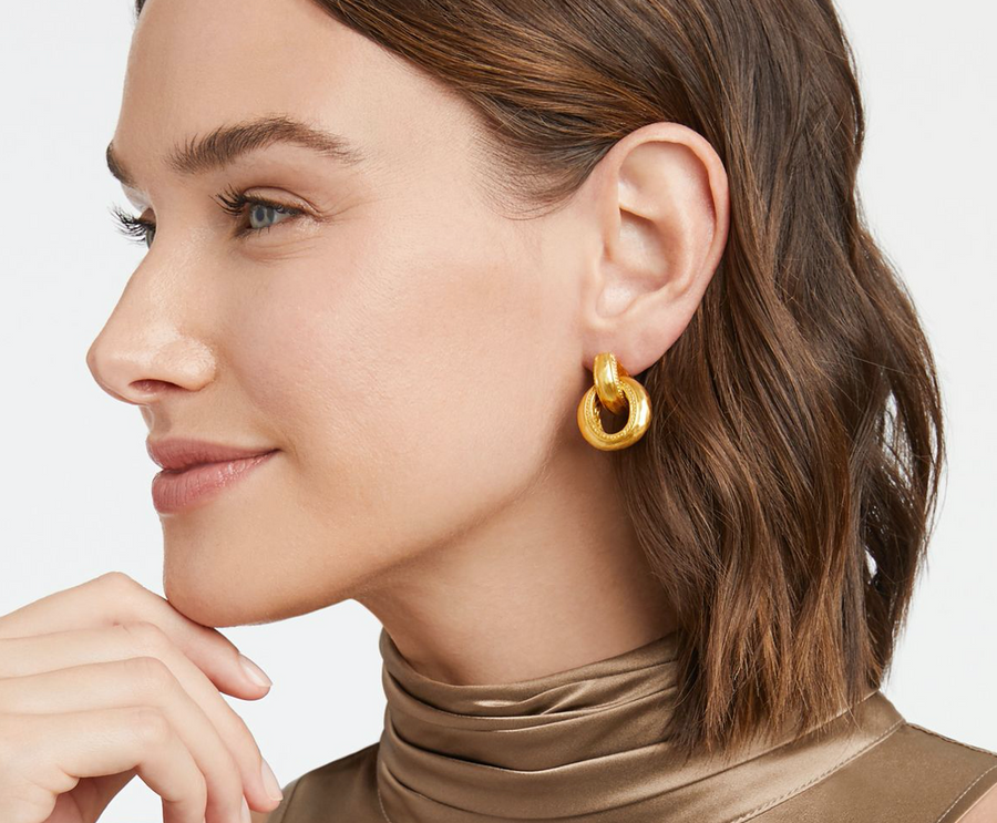 Casis Doorknocker Earring - Millo Jewelry