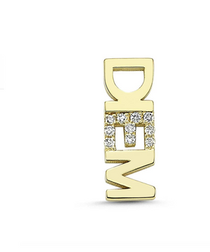Speak Up, DIEM Stud - Millo Jewelry