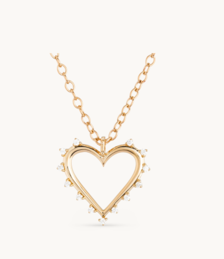 Open Heart Necklace - Millo Jewelry