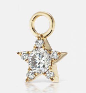 5.5mm Diamond Star Charm