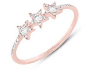 Triple Star Ring