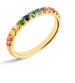 Rainbow Diamond Band