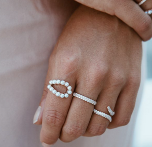 Pearl Athena Ring