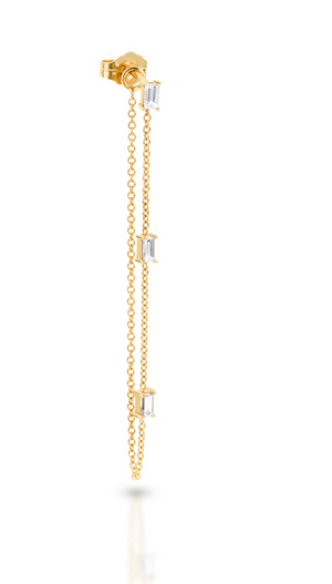 Tribeca Ear Chain - Millo Jewelry