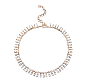 Dot Dash Diamond Necklace