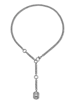 Mixed Diamond Buckle Adjustable Lariat