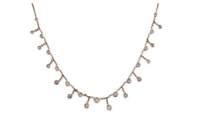 Graduated Large Diamond Shaker Necklace