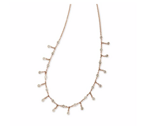 Diamond Shaker Necklace - Millo Jewelry