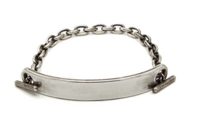The 11mm Medium Top ID Bar Bracelet