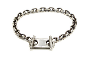 The 11mm Short ID Bar Bracelet - Millo Jewelry
