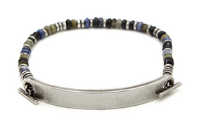 The Medium Top Bar, 9mm ID Bar Bracelet