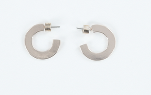 Small Flat Hoops