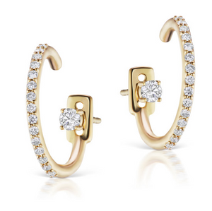 Pave Montaigne Earring