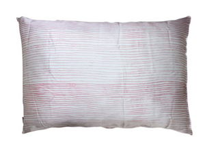 Silk Pillowcase- Pink Stripe
