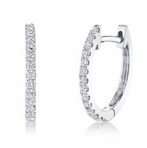 Diamond Huggies - Millo Jewelry