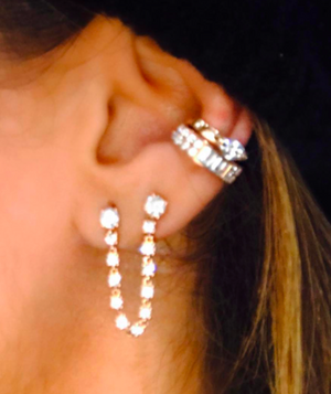 Double Piercing Loop Earring