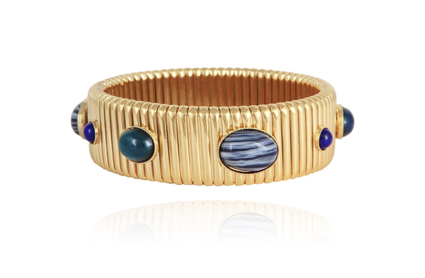 Strada Bracelet Medium Size Gold - Millo Jewelry