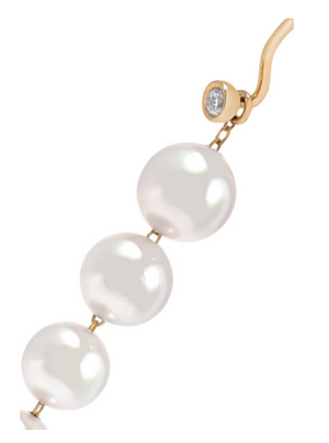 Pearl and Diamond Earrings - Millo Jewelry