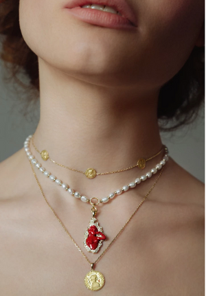 Louise d'Or Trio choker