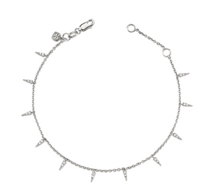 Pave Fringe Drop Bracelet - Millo Jewelry
