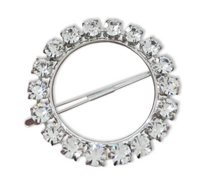Olivia Crystal Ring Barrette