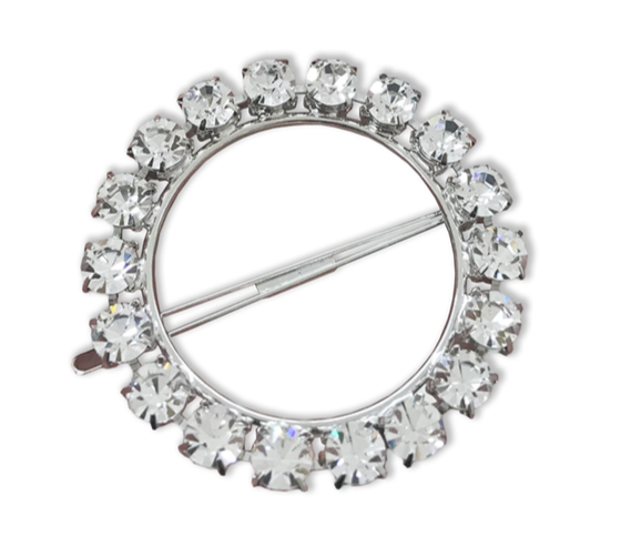 Olivia Crystal Ring Barrette - Millo Jewelry