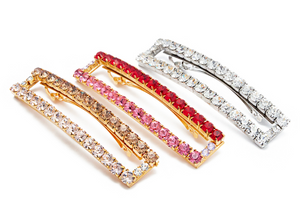 Broadway Crystal Barette - Millo Jewelry