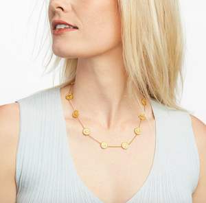 Coin Demi Station Necklace - Millo Jewelry