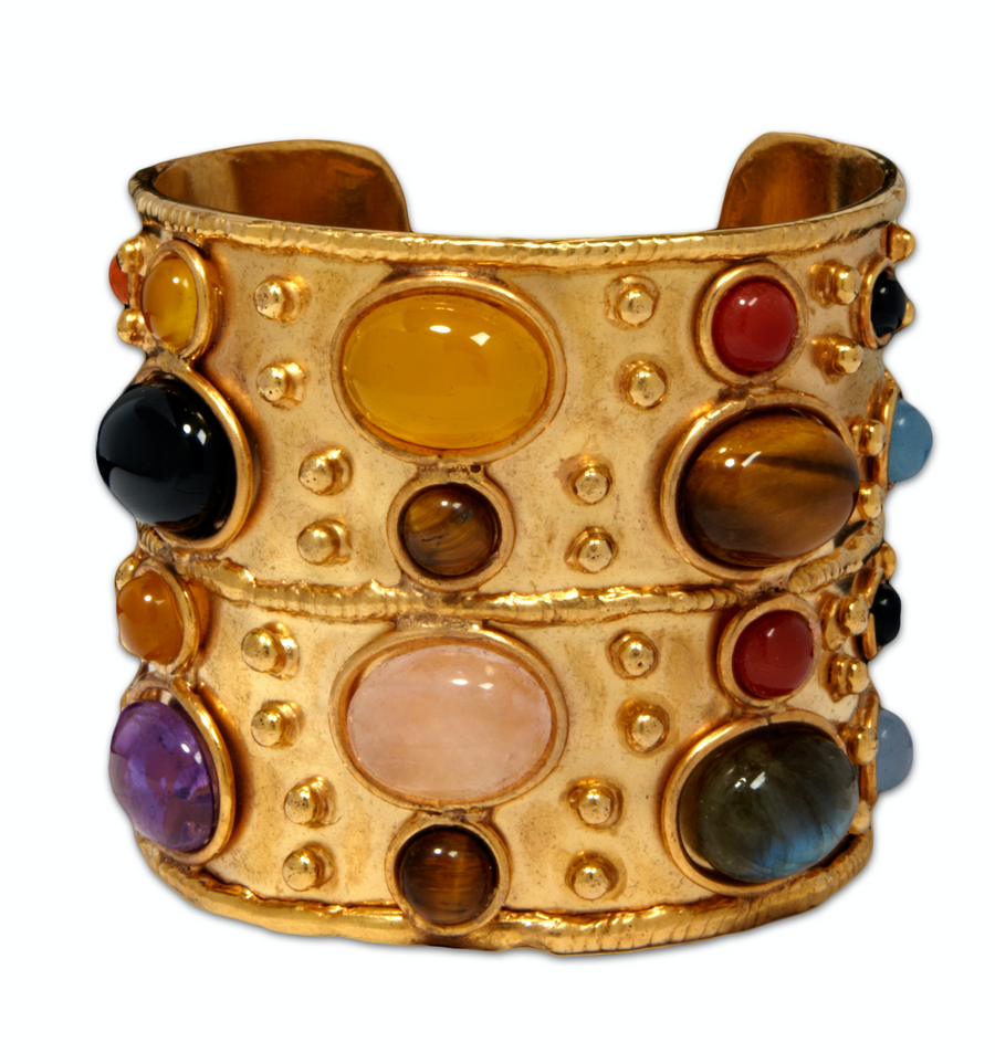 Gemstone Large Cuff