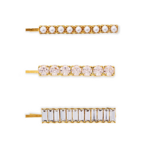 Blush Crystal Bobbi Set - Millo Jewelry