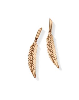 Feather Earrings, Small