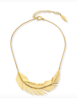 Feather Necklace - Millo Jewelry