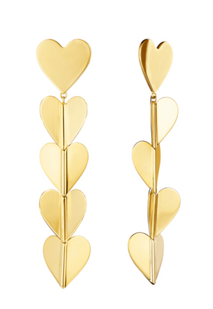 Wings Of Love Drop Earrings, Large - Millo Jewelry