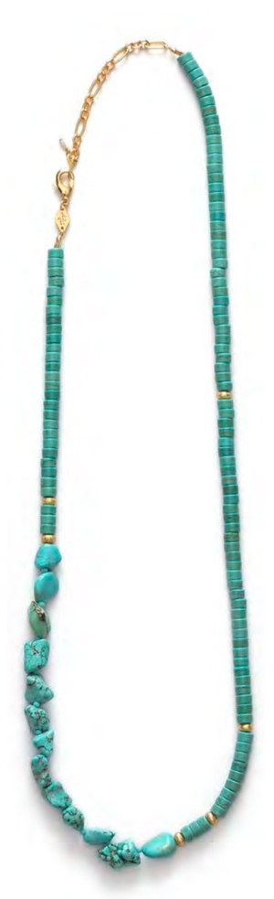 The Nomad Necklace - Lagoon - Millo Jewelry