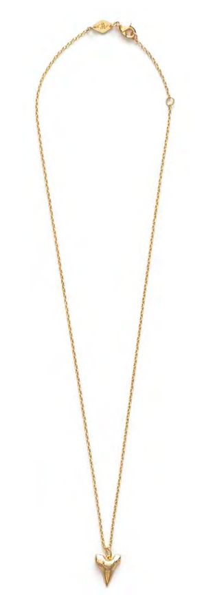 Bite Me Necklace - Gold