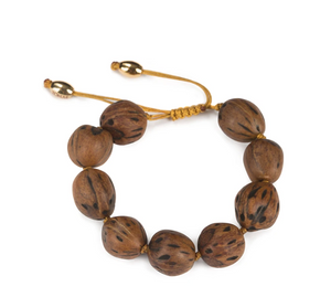 WOOD BEADS RESORT BRACELET