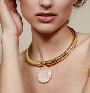 Tara Necklace in Gold