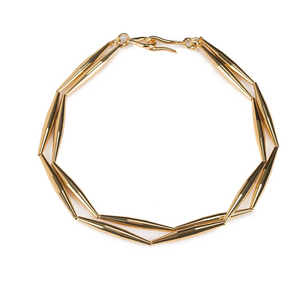 HELIA DUO CHAIN NECKLACE IN GOLD