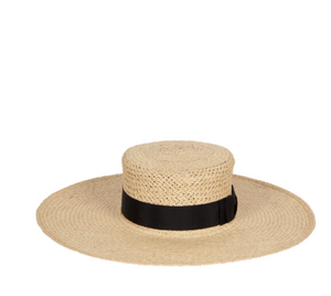 Carmelita Panama Straw Hat - Millo Jewelry