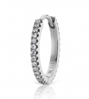 11mm Diamond Eternity Ring
