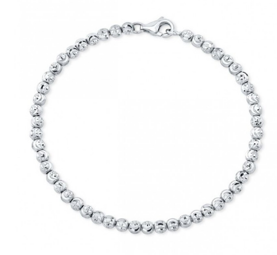 "Ruby Stella ""14K  Diamond Cut Bead Bracelet"""