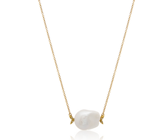"Mizuki ""Sea Of Beauty Pearl Necklace"" - Millo Jewelry"