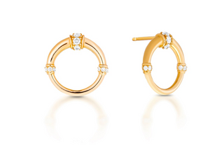 Mini Dharma Hoops - Millo Jewelry