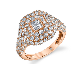 "Shay Fine Jewelry ""Diamond Pinky Ring"""