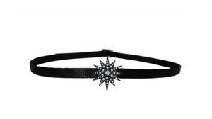 "Shay Fine Jewelry ""Single Starburst Choker"""